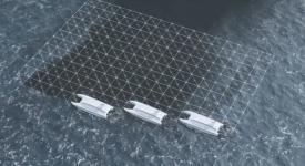 Для ликвидации разлившейся нефти создан беспилотник VORAX USV