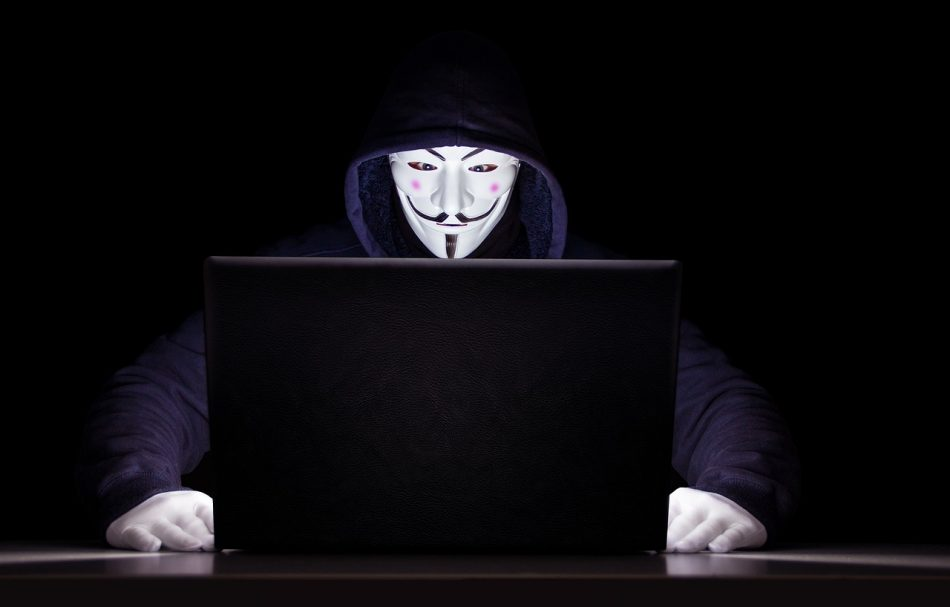 Хакер за ноутбуком