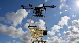 Жители Калифорнии смогут оформить доставку заказа дроном Amazon Scout