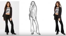 Трехмерная модель девушки