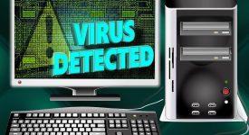 Компьютер с вирусом