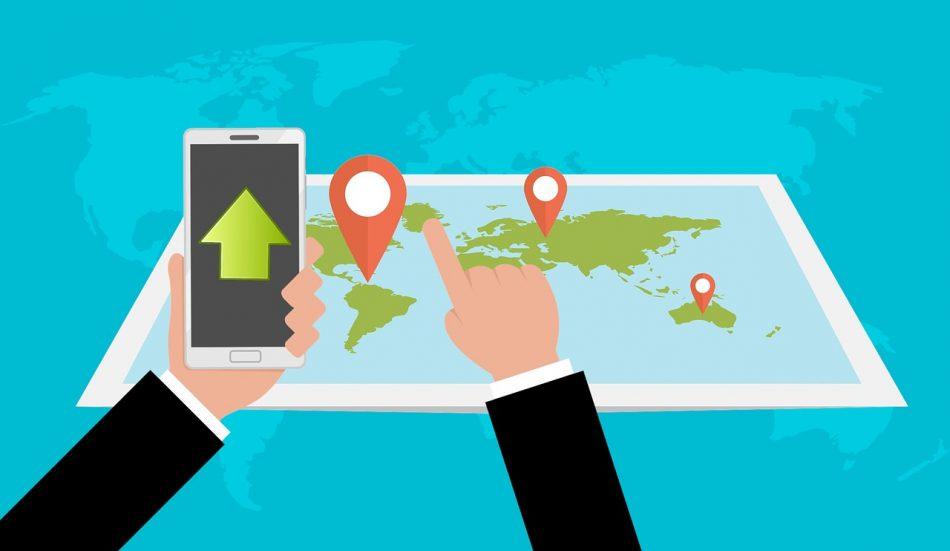GPS карта