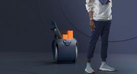 Робот для перевозки багажа Gita