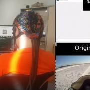 Эксперимент с реконструкцией видео