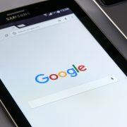 Google на планшете
