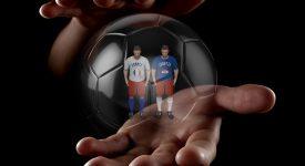 Игрушечные футболисты