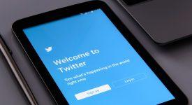 Начальная страница в Twitter