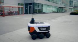 Робот-курьер «Яндекс.Ровер»