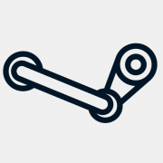 Логотип сервиса Steam
