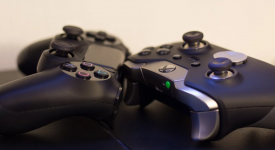 Геймпады от Xbox и PS