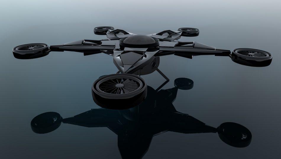 Курьерский дрон