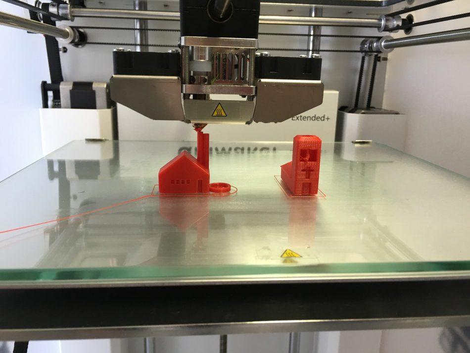 Печать 3D-принтера